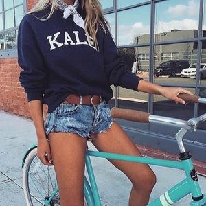 Suburban Riot Kale BF Sweatshirt