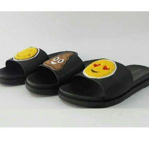 SARAH SIAH Shoes - 💩Emoji Poop Face Slide Sandal