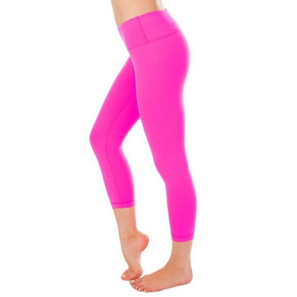 49% off Pants - Hot Pink Activewear Workout Leggings from ...