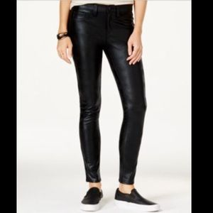 Tinseltown Denim - Tinseltown faux leather slim pants