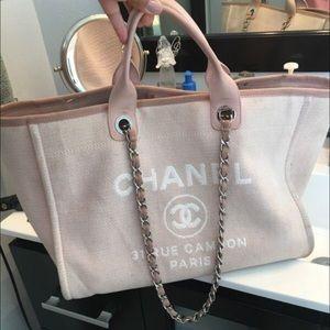 18dceaf112d4 CHANEL Bags | Deauville Large | Poshmark