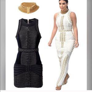24ea127ea660 Balmain Dresses   Nwt Rope Mini Dress   Poshmark