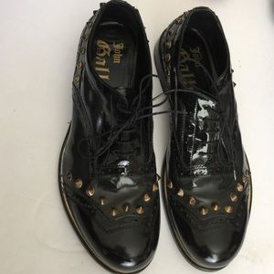 John Galliano Other - Mens John Galliano patent leather shoes sz 37