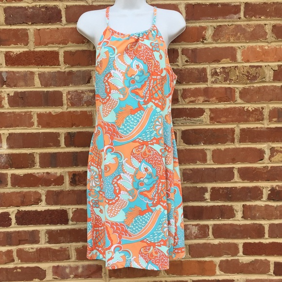 J Mclaughlin Halter Dress Xs Sundress