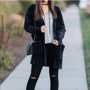 Zara chenille jacket