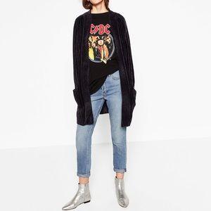 Zara Jackets & Blazers - Zara chenille jacket