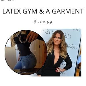 Latex Gym & A Garment Waist Trainer