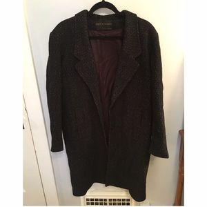 David Benjamin Collection Jackets & Blazers - Vintage Black and White Wool Coat