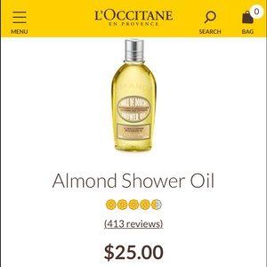 MOVING 6/1 ✨L' Occitane Almond Shower Oil