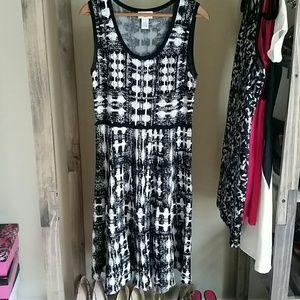  SALE! Carmen Marc Valvo dress