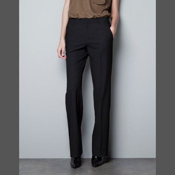 Zara Pants | Sale Woman Black Dress | Poshmark