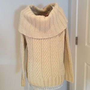 NWT Beautiful Ivory Sweater