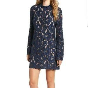 NWOT Wayf Lace Shift Dress