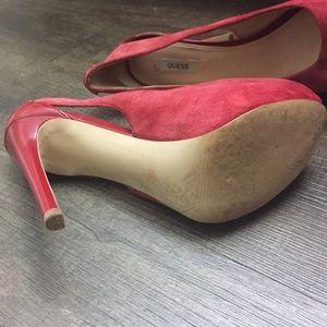 Guess Shoes - Guess peep toe pumps size 9
