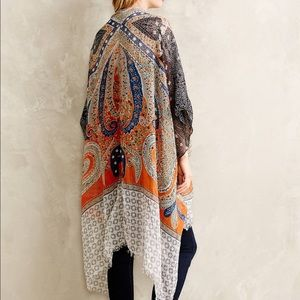 Anthropologie Sweaters - ⚡SALE⚡Anthropologie cotton kimono/shrug