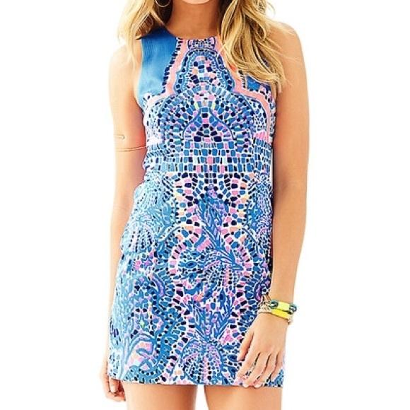 5ca6383d8c600 Lilly Pulitzer Dresses | Nwt Mila Shift Tic Tac Tile | Poshmark