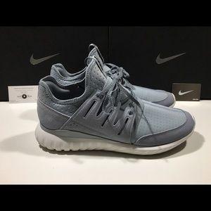 Adidas Rørformet Radial Sko Menns Svart 01hVr