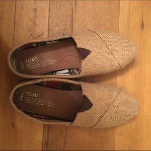 TOMS Shoes - Burlap Toms Shoes