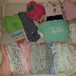 Other - 71 Pieces of baby girl clothes
