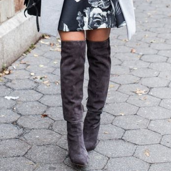 8118fd76c9a Black Joie Olivia Over the Knee Boots - brand new