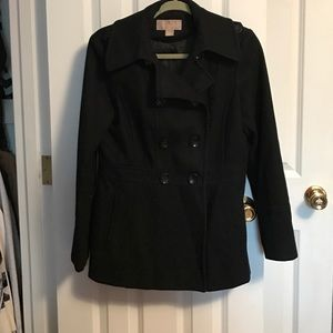 Michael Kors Jackets & Blazers - Black Michael Kors Pea Coat
