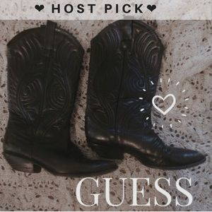 Guess by Marciano Shoes - ☀️HP!!!!☀️🌹GUESS Leather Vintage Boots🌹