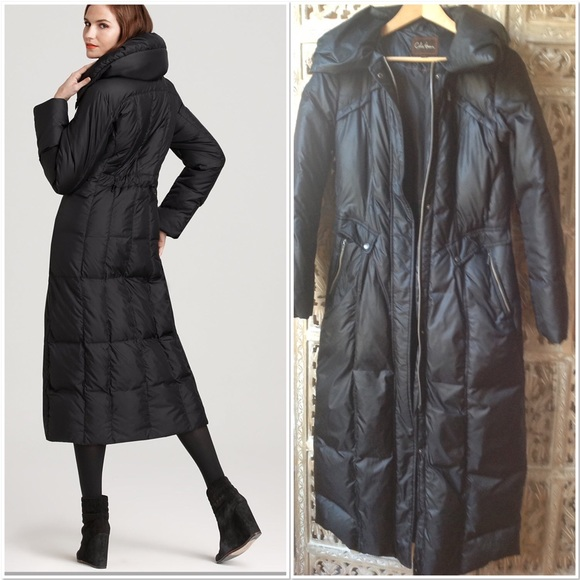 ee4ca9cef24f Cole Haan Jackets & Coats | One Day Sale Long Maxi Down Coat S ...