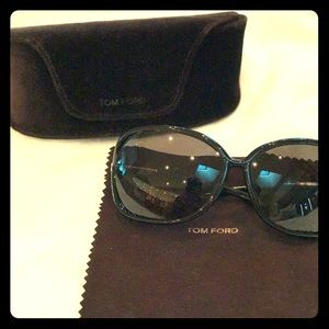 Pre-owned Tom Ford Raquel Sunglasses
