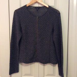 Eileen Fisher Sweaters - Eileen Fisher Zip Front Cardigan