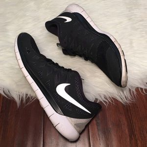 Nike Shoes - | Nike | Free Run 5.0 Black and White Sneakers