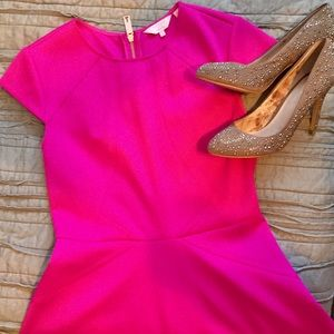 Hot Pink Ted Baker Dress