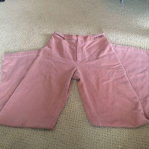 Salmon colored high waist jeans sz 27