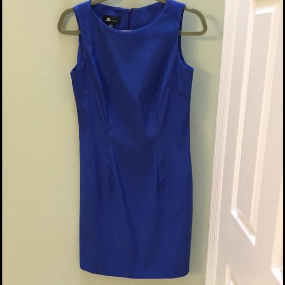 Off Ab Studio Dresses Skirts Ab Studio Blue Dress From