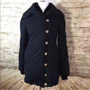 Trovata Jackets & Blazers - Trovata Zip Goose Down Winter Jacket Thick Heavy