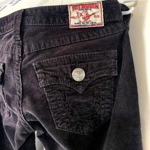 True Religion Pants - True Religion Joey corduroys sz 26 🌟