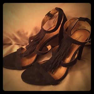 Christian Siriano Shoes - Black Heels.