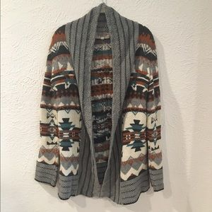 Urban Outfitters Aztec print cardigan