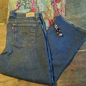 Levi's 550 bootcut jeans