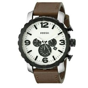 Fossil Other - NWT fossil Chronograph Eggshell watch
