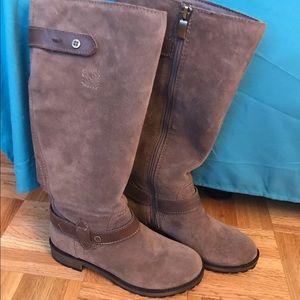 Naturalizer TANITA Taupe Suede Boot