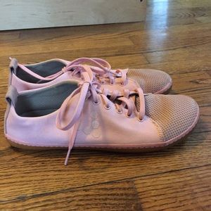 Vivo barefoot Shoes - GUC Vivobarefoot 41 Freud Pink Canvas/Leather