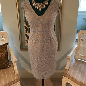 Beautiful Powder Blue lace dress size med😇