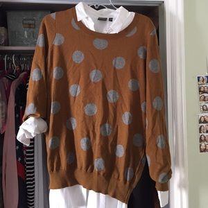 Madewell polka dot sweater
