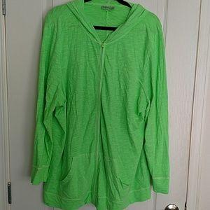 Catherines Tops - Zippered hoodie