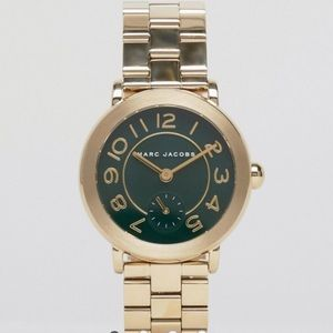 Marc Jacobs Gold Riley Watch MJ3488