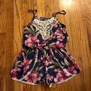 Truly Me Other - Truly me little girls romper size 6
