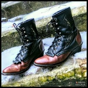 Laredo Shoes - SALE $20 Steampunk Ankle Boots