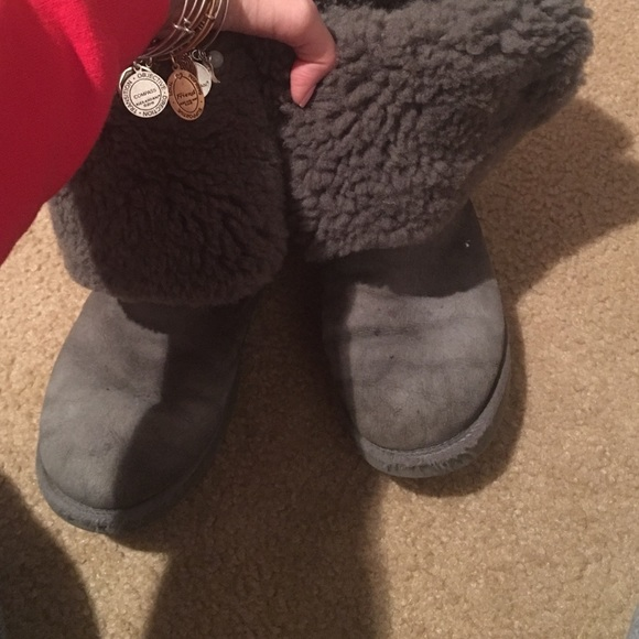 60 off ugg shoes gray uggs with buttons from taylors