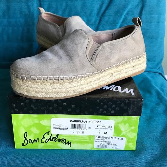 Sam Edelman Shoes | Carrin Putty Suede