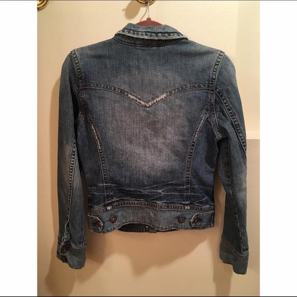 60% off Silver Jeans Jackets & Blazers - Silver Jeans Jean Jacket ...
